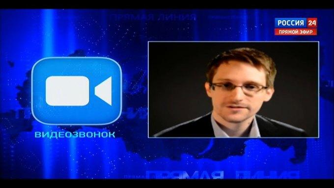 Сноуден задал вопрос Путину во время «Прямой линии». Изображение № 1.