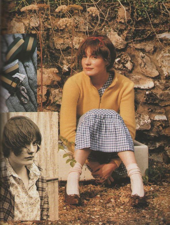 Архивная съёмка: Тим Уокер для Vogue, 1996. Изображение № 12.