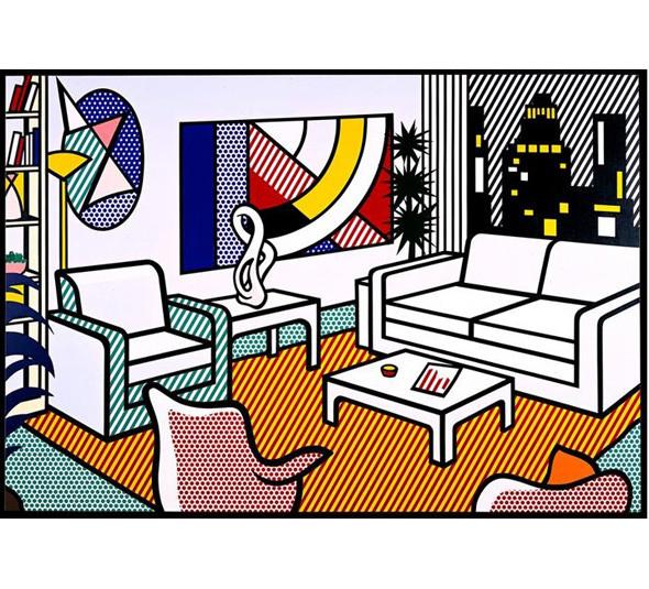 Найдено за неделю: Интерьеры Роя Лихтенштейна, неон-арт и граффити с гейшами. Изображение № 24.