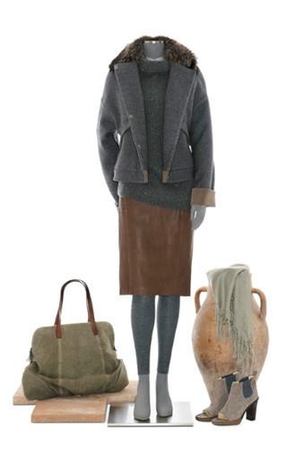 Brunello Cucinelli: лукбук осень-зима 2011/2012. Изображение № 83.