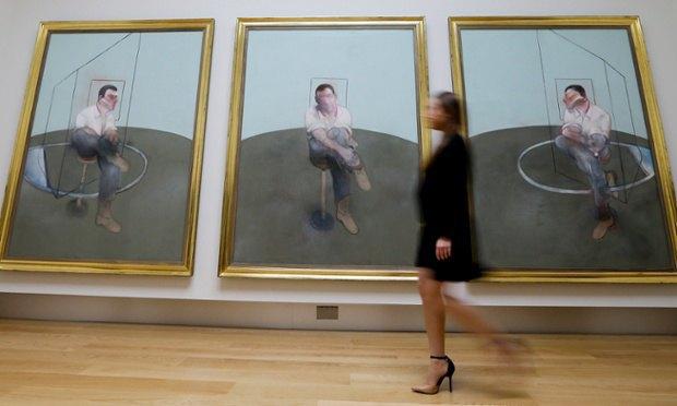 Триптих Фрэнсиса Бэкона. Фотограф: Кирсти Вигглсворт. Изображение № 1.