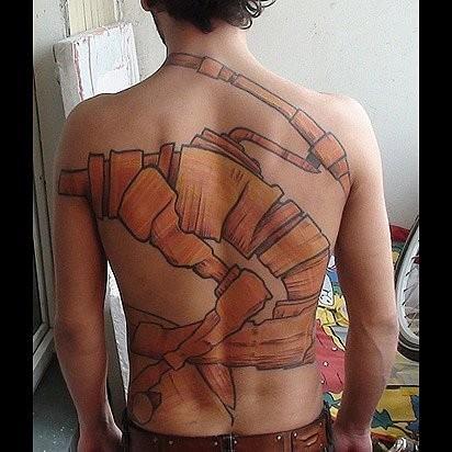Татуировки в стиле Иннормизма. Изображение № 11.
