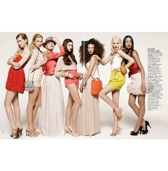 5 новых съемок: Amica, Elle, Harper's Bazaar, Vogue. Изображение № 17.