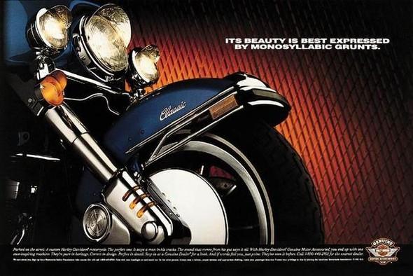Harley Davidson: реклама легенды. Изображение № 13.