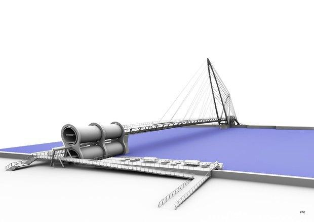 Выложены 74 проекта нового моста через Темзу. Изображение № 32.