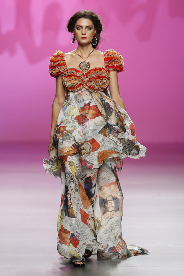 Madrid Fashion Week SS 2012: Francis Montesinos. Изображение № 26.