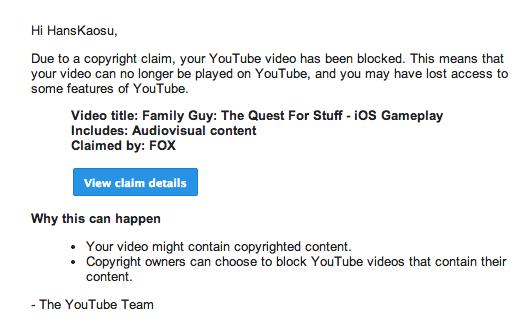 FOX требует удалить все обзоры игры Family Guy. Изображение № 4.