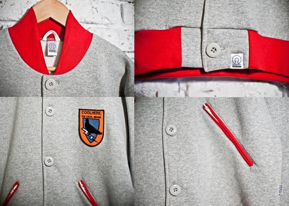 Украинская марка COOLHERE выпустила университетские куртки. Изображение № 6.
