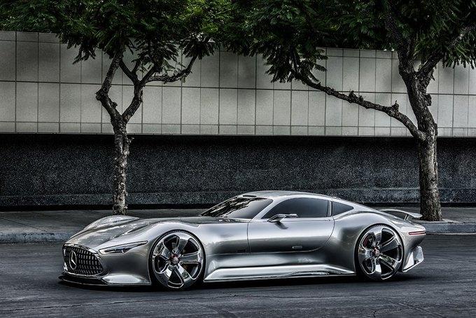 Mercedes-Benz разработала концепт спорткара для новой части Gran Turismo. Изображение № 10.