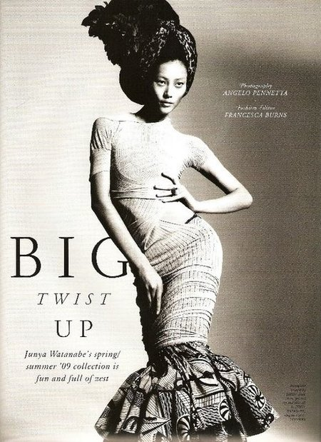 Liu Wen for POP Magazine, Winter 2008. Изображение № 2.