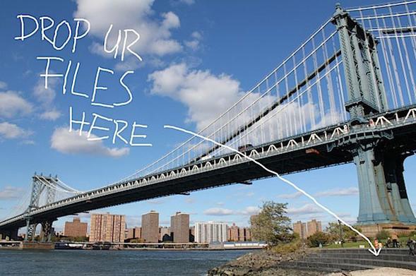 В Нью-Йорке появился новый файлообменник. Изображение № 1.