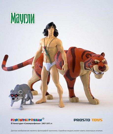 Появились официальные фигурки персонажей советского «Маугли». Изображение № 2.