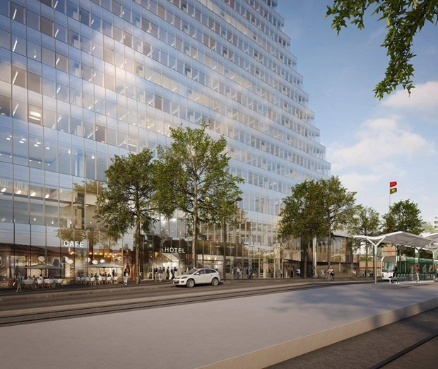 В Париже согласились строить небоскрёб-треугольник. Изображение № 6.