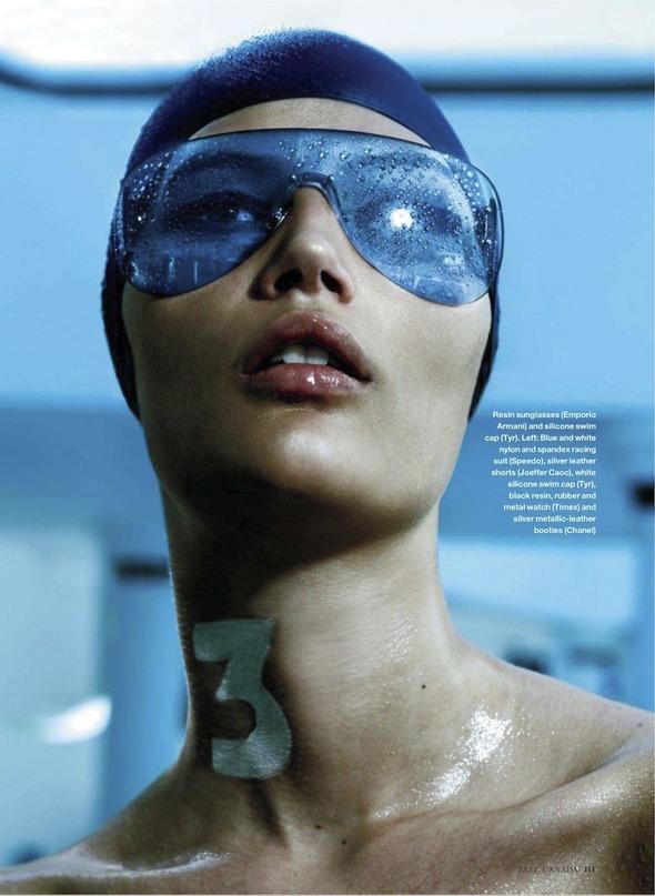Съемки: Numero, Vogue, W и другие. Изображение № 1.