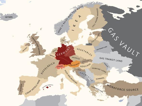Европа в стереотипах. Изображение № 5.