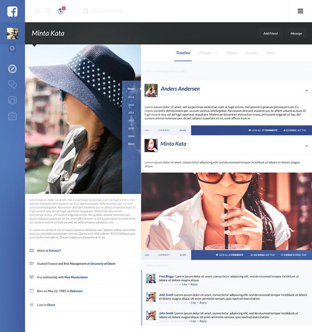 Редизайн дня: полностью новая веб-версия Facebook. Изображение № 18.