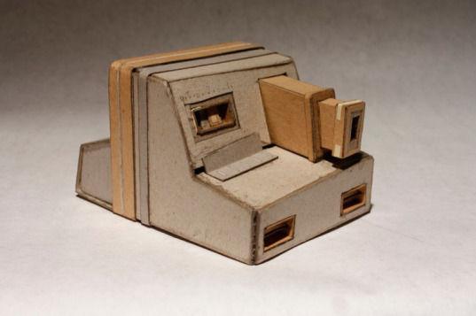 Картонные фотокамеры Киля Джонсона. Изображение № 4.