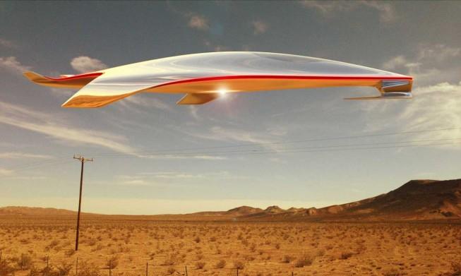 Дизайнер Ferrari создал модель космического корабля. Изображение № 1.