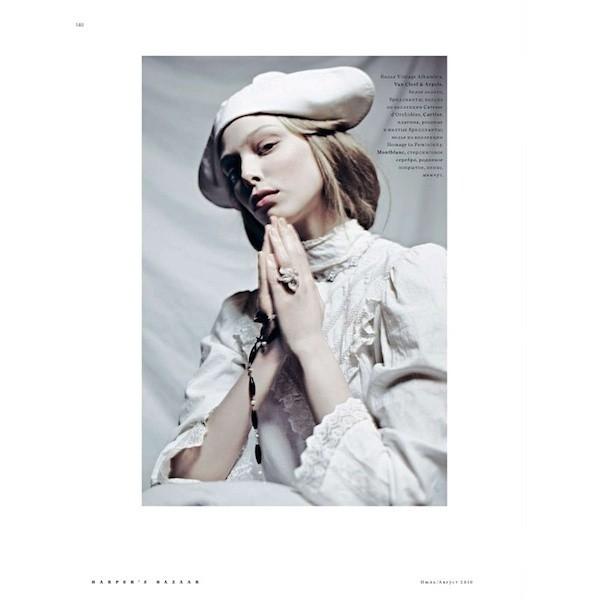 5 новых съемок: Amica, Elle, Harper's Bazaar, Vogue. Изображение № 23.