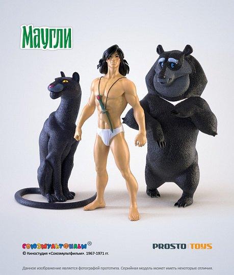 Появились официальные фигурки персонажей советского «Маугли». Изображение № 4.