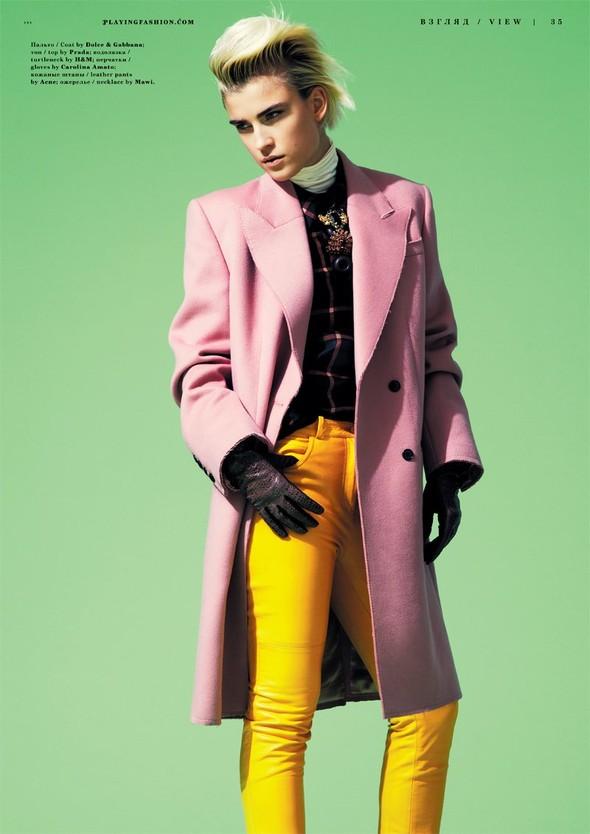 Съёмка: Яна Кнауэрова для Playing Fashion. Изображение № 3.