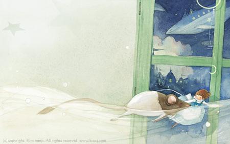 Kimmin ji– акварель видеальном исполнении. Изображение № 6.