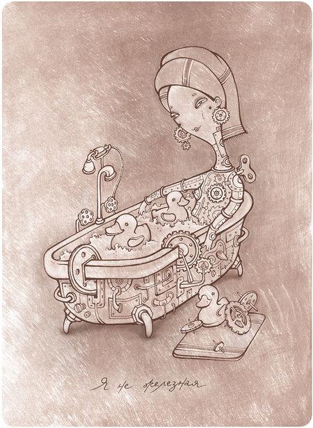 Девушки иллюстраторы. Изображение № 9.