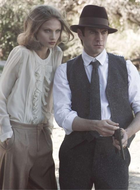 Бонни и Клайд в Harpers Bazaar. Изображение № 7.