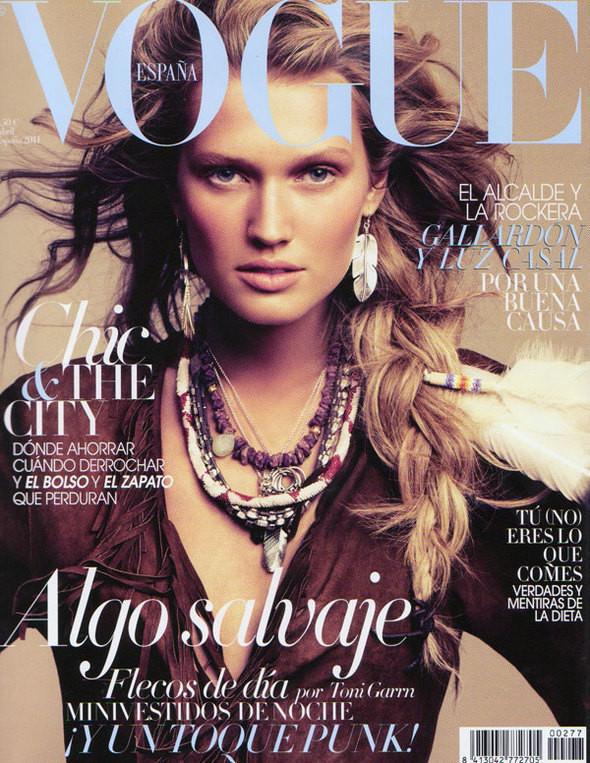 Изображение 1. Обложки Vogue: Америка, Германия и другие.. Изображение № 4.