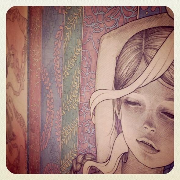 Новые работы Audrey Kawasaki. Изображение № 9.
