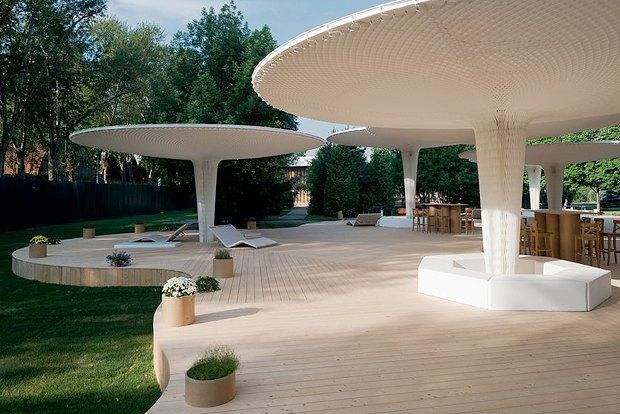 Как создавался летний павильон Центра «Гараж». Изображение № 3.