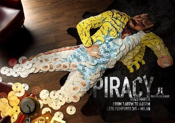 Изображение 3. Рекламная кампания: Копирайтеры против пиратства.. Изображение № 3.