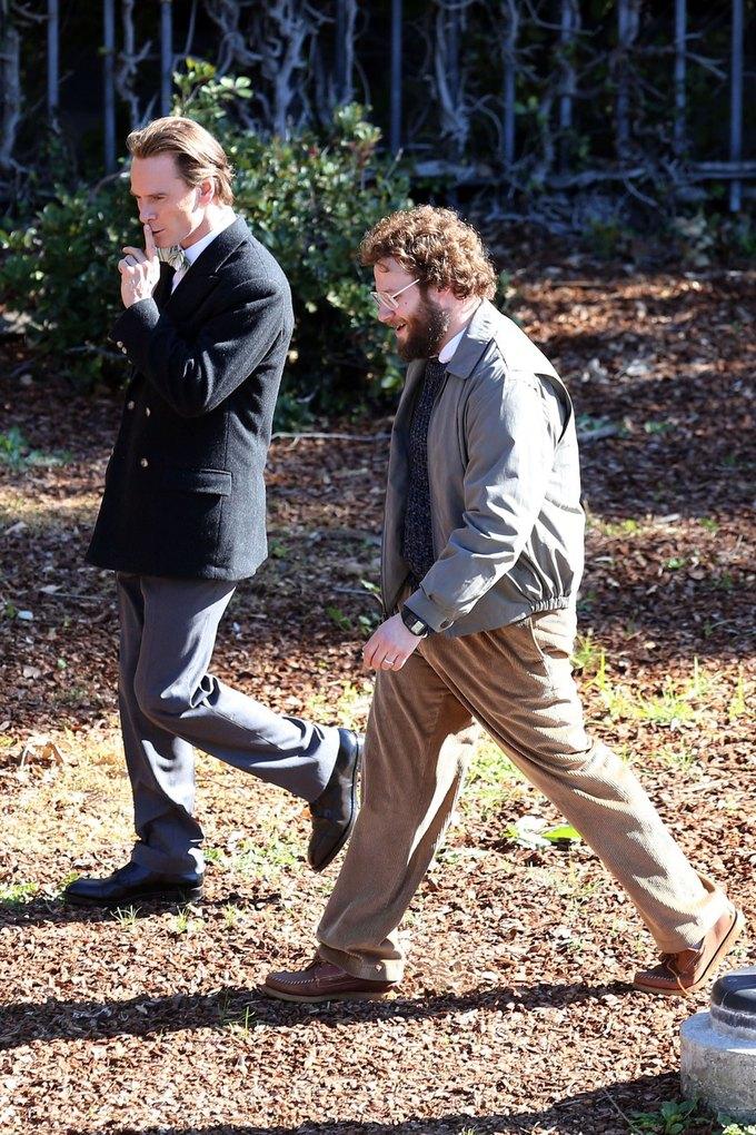 Фото дня: Майкл Фассбендер в роли Стива Джобса. Изображение № 5.