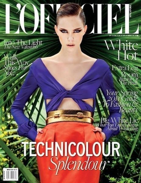 Коллекция Gucci SS 2011 появилась на 50 обложках журналов. Изображение № 33.