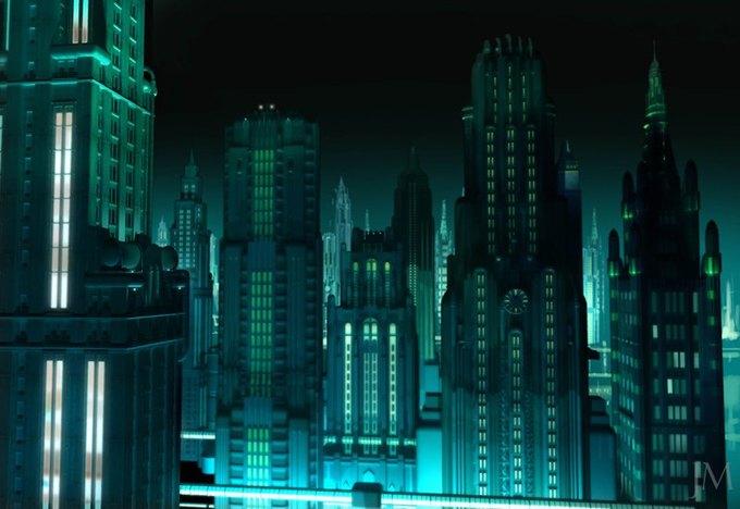 Опубликованы концепт-арты экранизации Bioshock. Изображение № 19.
