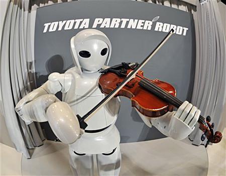 Роботы отToyota. Домашний робот – помощник. Изображение № 3.