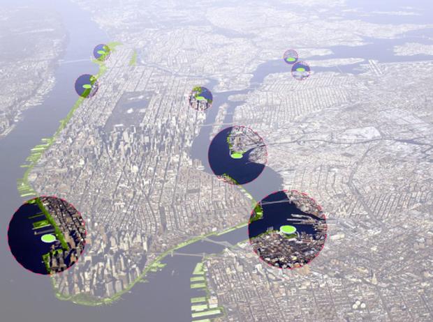 В Нью-Йорке могут построить новые острова. Изображение № 2.