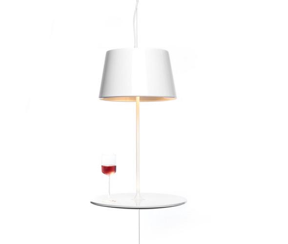 Компактный гибрид барной стойки и светильника от норвежской студии Hareide Design. Изображение № 1.