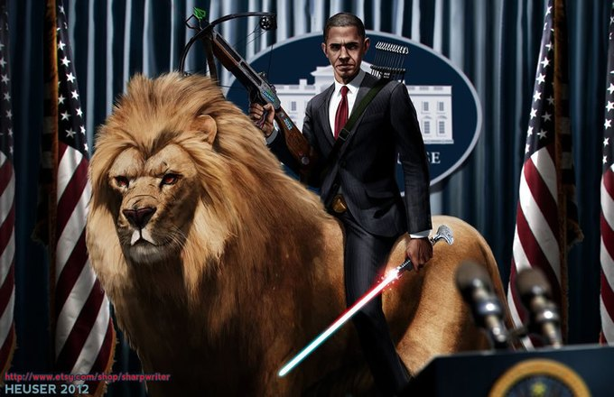 Американские президенты изображены героями игр. Изображение № 10.