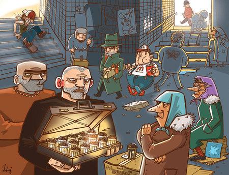 Ироничные иллюстрации Сергея Ратникова. Изображение № 20.