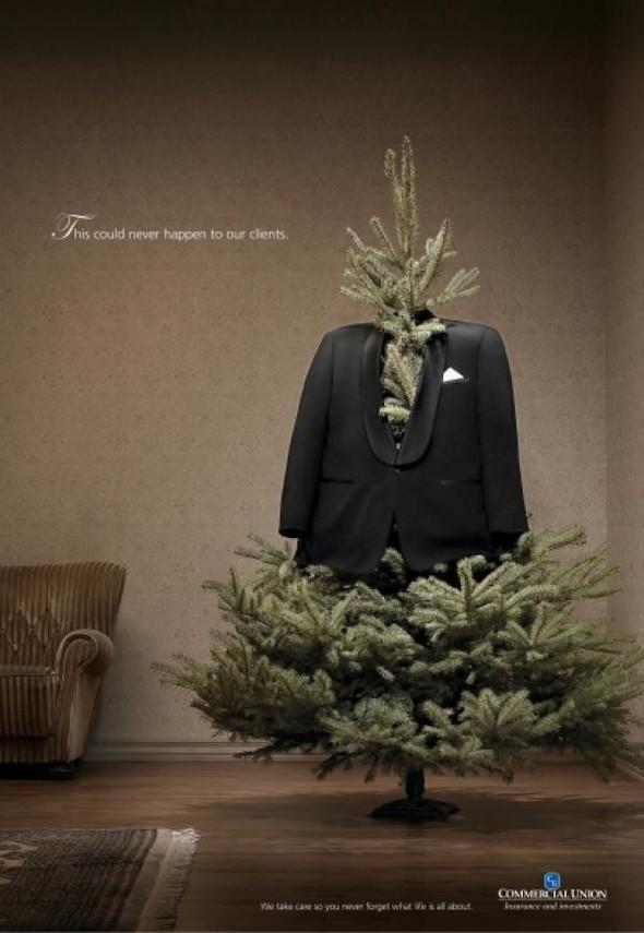 69 рождественских рекламных плакатов. Изображение № 39.