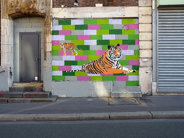 Стрит-арт в Париже. Изображение № 31.