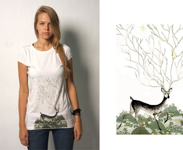 Дизайнерские футболки отT-store. Изображение № 16.