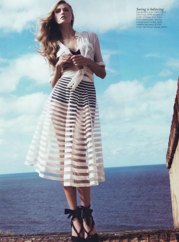 Съёмка: Валентина Зеляева для Vogue. Изображение № 6.
