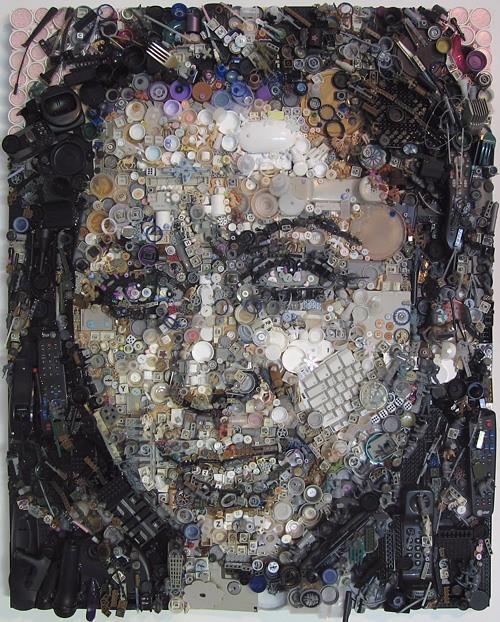 Картины из мусора. Изображение № 5.