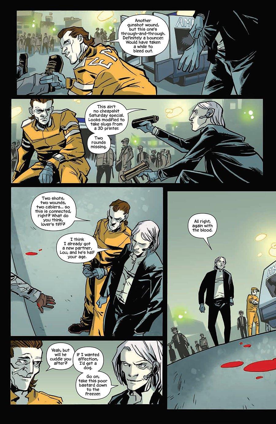 Автор комикса The Fuse об отношении иностранцев к России и женщинах-полицейских. Изображение № 8.