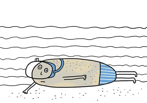 To swim like a stone Ирины Чайцыной (Новороссийск). Изображение № 8.