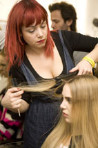 London Fashion Week. Hairlooks. Part 2. Изображение № 2.