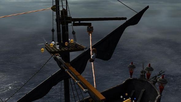 Изображение 13. Компания Disney выпустила игру «LEGO Пираты Карибского Моря».. Изображение № 12.