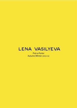 Изображение 1. Лукбук: Lena Vasilyeva FW 2011.. Изображение № 1.